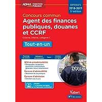 Concours commun Agent des finances publiques, douanes et CCRF - Catégorie C - Tout-en-un - Concours 2018-2019