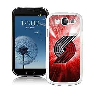 New Custom Design Cover Case For Samsung Galaxy S3 I9300 portland trail blazers 4 White Phone Case