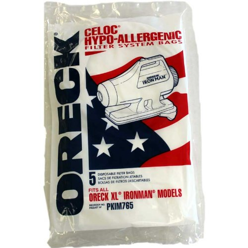 oreck iron man vacuum bags - 5