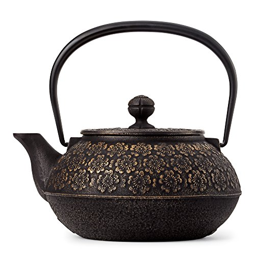Cherry Blossoms Cast Iron Teapot by Teavana