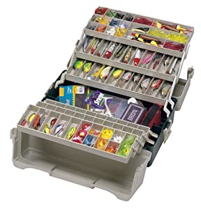 Plano Hip Roof 6 Tray Tackle Box from Plano