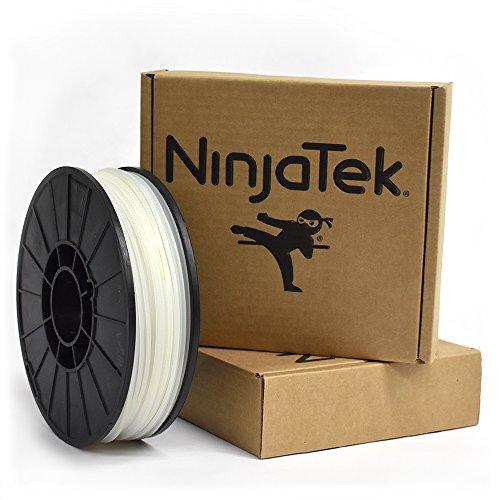 NinjaTek 3DCH08129010 NinjaTek Cheetah TPU Filament, 3.00mm, Tpe, 1kg, Water (Clear) (Pack of 1)