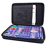 Hard Organizer Storage Case for Snap Circuits Jr. SC-100 Electronics Discovery Game Kit by Aenllosi