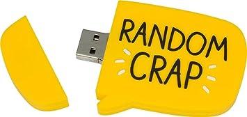 Happy Jackson: 4 GB USB 2.0 Flash Drive amarillo Random ...