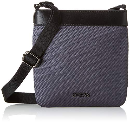 grey Borsa Xbod Messenger Flat Uomo Global Nero Mn Functional Guess Iqz4XRx