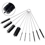 Tube Cleaner, Anpatio 20Pcs Nylon Pipe Cleaning Brush Set Bottle Nozzle Cleaner Kit for Drinking Straws, Glasses, Keyboards, Jewelry, Automobile Engine Cleaning