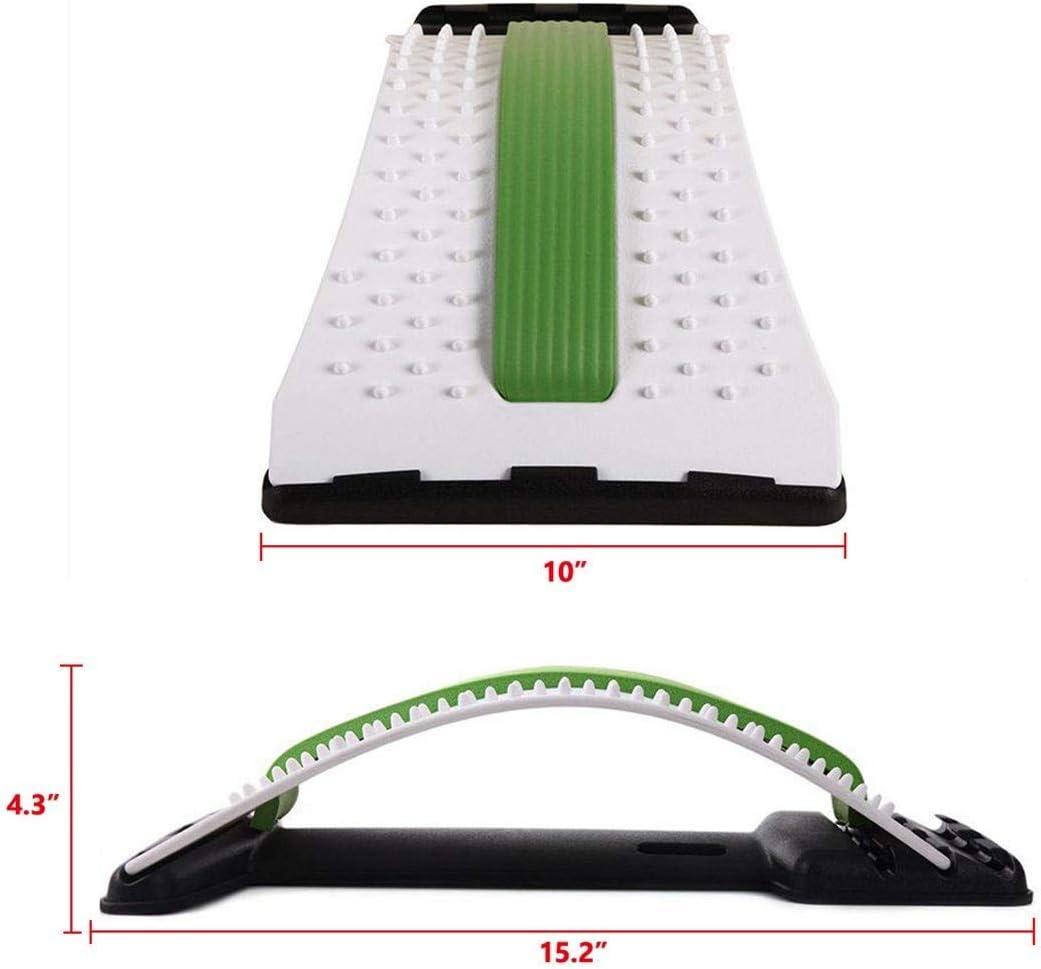 supporto schiena for sedia da ufficio Barella posteriore-sollievo dal mal di schiena e parte superiore della schiena supporto lombare postura correttore sollievo sciatica trazione lombare