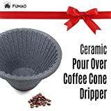FUMAO Paperless Coffee Filter Pour Over Reusable