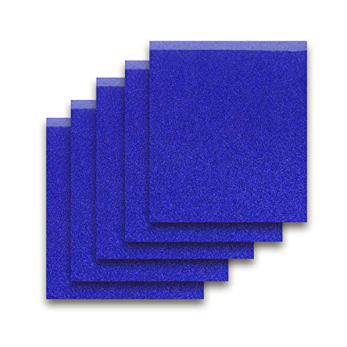 Small Blue Glitter - Royal Blue 12