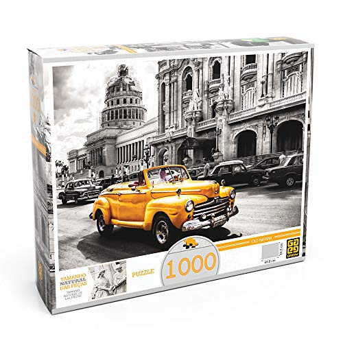 Quebra Cabeca 1 000 Pecas Old Havana Grow