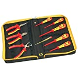C K VDE Pliers and Screwdrivers Kit 9 Piece PZ & SL Tips + CombiCutter1 - 331001 by C.K