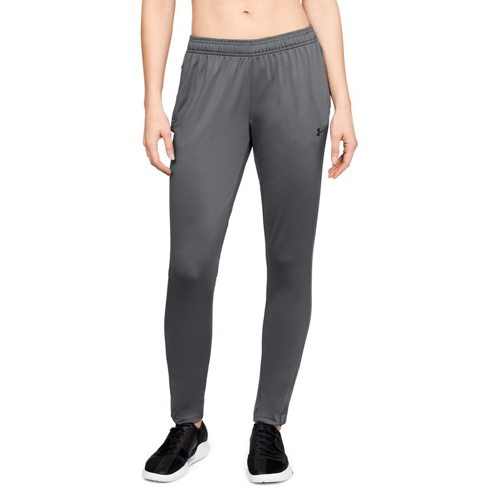 Under Armour Women's Challenger II Training Pants, Graphite (040)/Black, X-Small