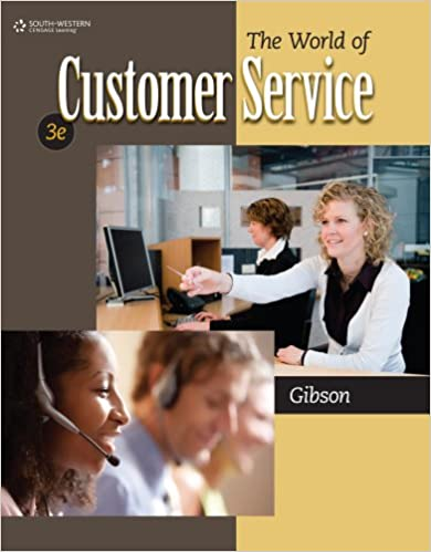 The world of customer service 3rd edition.