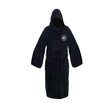 5c2db4357e Robe Male with Hooded Thick Star Wars Dressing Gown Jedi Empire Men s  Bathrobe Winter Long Robe Mens Bath Robe at Amazon Men s Clothing store