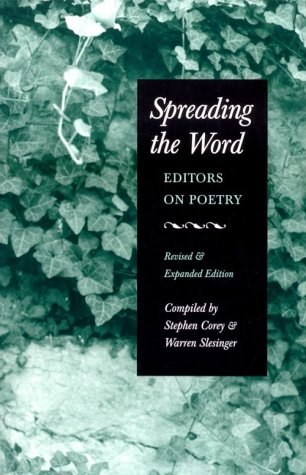 Spreading the Word: Editors on Poetry
