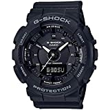 Ladies' Casio G-Shock S-Series Black Step Tracker Watch GMAS130-1A