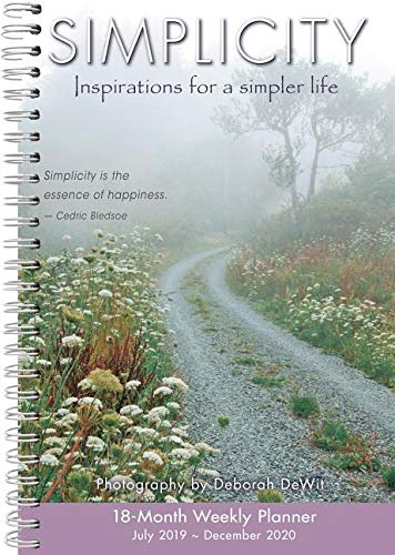 Simplicity 2020 Planner: Inspirations for a Simpler Life
