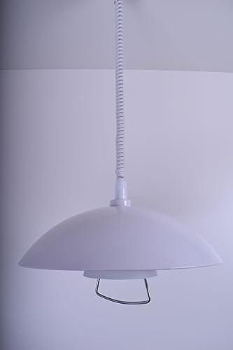 Lámpara colgante extensible Deco Mode Olivia 5295995 Luz de Comedor Luz Vintage Casquillo E27 comedor iluminación lámpara de techo