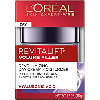 L'Oréal Paris Revitalift Volume Filler Daily Volumizing Moisturizer, All Skin Types, 1.7 oz.