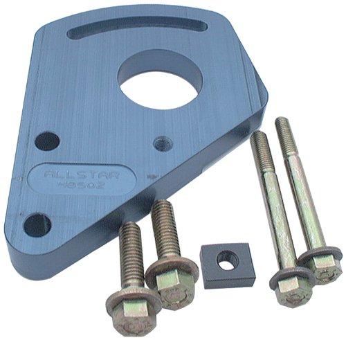 Power Steering Kit Small Block (Allstar ALL48502 Blue Anodized Aluminum Block Mount Power Steering Pump Bracket Kit for Small Block Chevy)