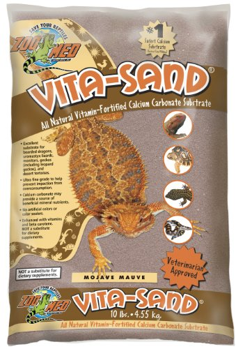 Zoo Med Vita Sand, 10 Pounds, Mauve by Zoo Med