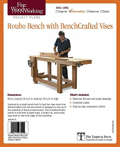 Buy Fine Woodworking Roubo Bench With Benchcrafted Vises