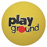Baden Rubber 10-Inch Playground Ball, Yellow