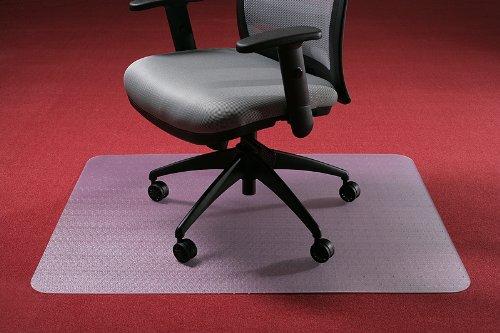 Bodenschutzmatte ohne Noppen 1800 x 1200mm PC - transparent