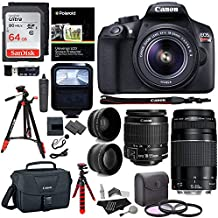 Canon EOS Rebel T6 Variación), Canon 1159C003 Ritz Camera Hard Bundle