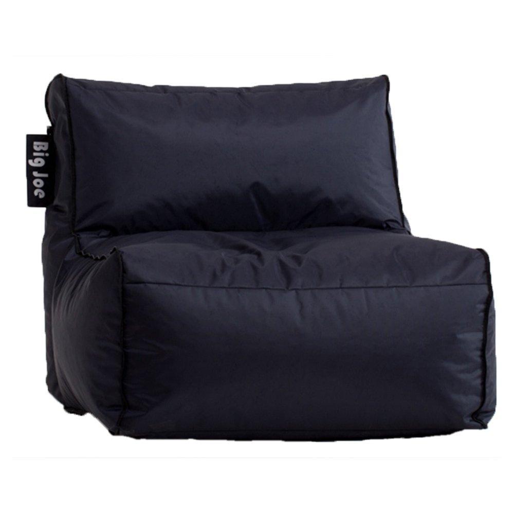 Big joe zip modular armless chair at brookstone buy now - Amazon Com Big Joe Zip Modular Sofa Stretch Limo Black Armless Chair Only Kitchen Dining