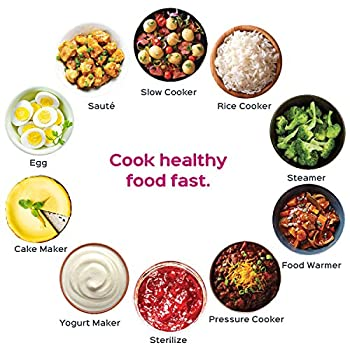 Instant Pot Duo Plus 60, 6 Qt 9-in-1 Multi- Use Programmable Pressure Cooker, Slow Cooker, Rice Cooker, Yogurt Maker, Egg Cooker, Sauté, Steamer, Warmer, & Sterilizer 4