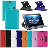 SMM 360 Rotate With Stand Universal 7'' Tablet Flip Cover For Amazon Kindle Fire HD 7' Tablet (Color May Vary) (FREE OTG Connector)