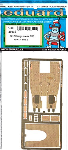 Eduard Accessories 48935Amodelmaking Accessory Uh 1D Cargo Interior For Kitty Hawk