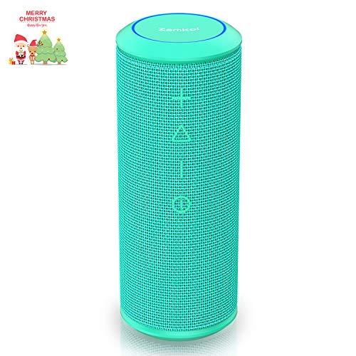 Zamkol Bluetooth Speakers Portable Wireless-Blue