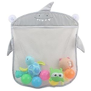 Baby Bath Toy Organizer Storage,Cheap4uk Extra Large Kids Mesh Net Storage Bag Organizer Holder with Two Heavy Duty…