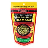 SEAPOINT FARMS Low Sodium Roasted Dried Edamame, 4 OZ Review
