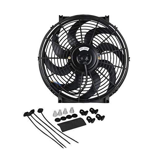 HoganeyVan 12v engine Cooling Fan 8
