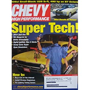 Chevy High Performance [ Jan. 2004 ] Single Issue Magazine (Super Tech! 305ci bolt-ons, TBI blueprint for better driveability, digital ignition, comp cams super dyno simulators) Ro McGonegal