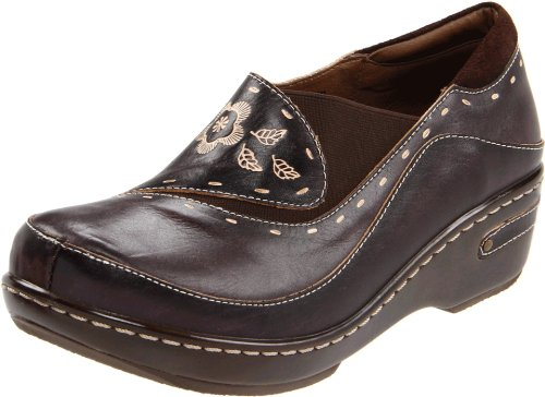 L'artiste by Spring Step Women's Burbank Mule, Brown, 40 EU/9 M US by Spring Step