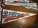 1985 Detroit Tigers scroll World Champions Pennant b1