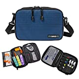 ChillMED Elite Diabetic Organizer Supply Kit | Insulin and Medication Travel Cooler Bag - Blue