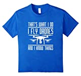 I FLY DRONES T-SHIRT Game of Drones Funny Parody RC Pilot