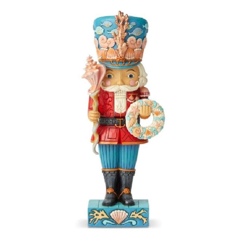 Enesco Jim Shore Heartwood Creek Coastal Nutcracker Figurine, 10.24''