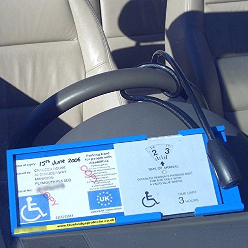 Blue Badge Protector (Double – Secures Blue Badge & Clock