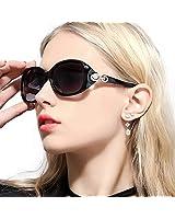 Duco Women's Oversized Polarized Sunglasses...