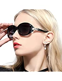 Retro Sunglasses for Women Driving, Large Frame Polarized...
