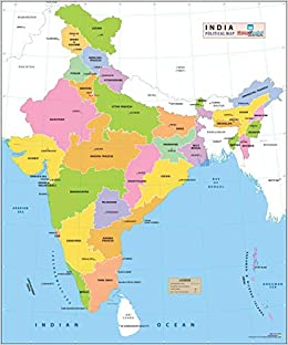 India Political Map (27.5\