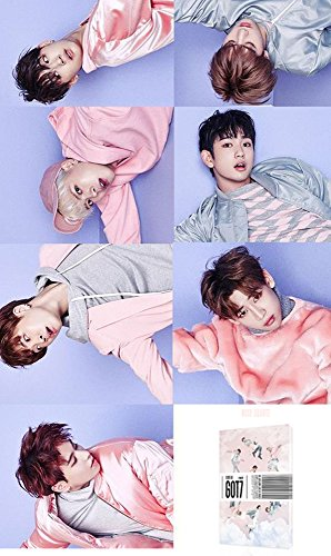 Price comparison product image GOT7 FLIGHT LOG : DEPARTURE [Rose Quartz Ver.] 5th Album CD + Poster + Gift (Extra 4 Photocards Set)