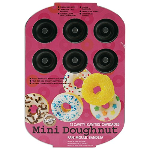 Wilton Nonstick 12-Cavity Mini Donut Pan