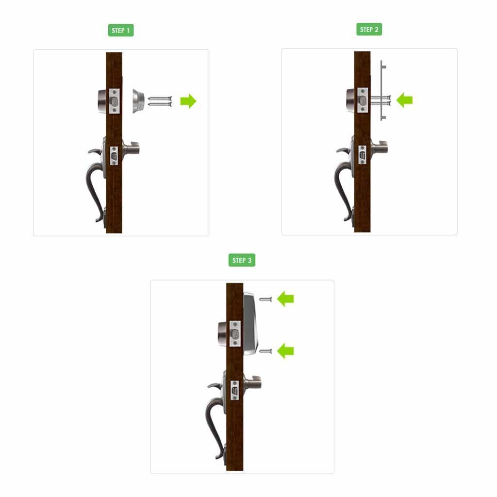 How To Unlock A Locked Door Okidokeys Classic Smart Lock Bluetooth 40 Enabled Smart Lock For